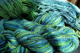 here's a blue-green colorway