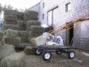 A nice load of 2nd cutting hay.